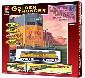 Life Like Trains Life Like Trains HO Scale Golden Thunder Electric Train Set