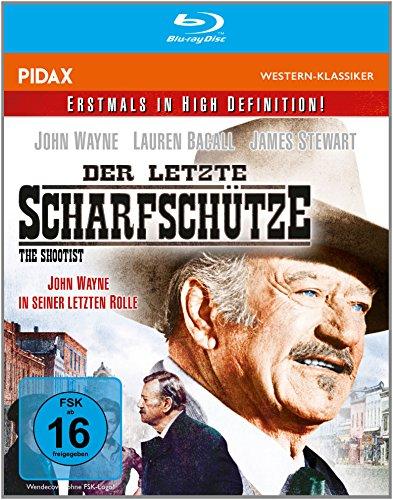 Der letzte Scharfschütze (The Shootist) / Der letzte Western von John Wayne weltweit erstmals in HD (Pidax Western-Klassiker) [Blu-ray]