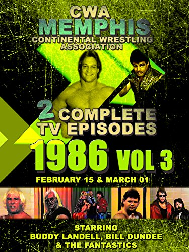 CWA Memphis Wrestling 2 Complete TV Episodes 1986 Vol 3