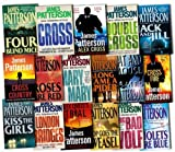 James Patterson Alex Cross Series Collection James Patterson 17 Books Set Pack RRP: £230.84 (London Bridges, The Big Bad Wolf, Cross Fire, Double Cross, Cross, Mary, Mary, Kiss The Girls, Jack & Jill, Four Blind Mice, Violets are blue, Roses are Red, Po