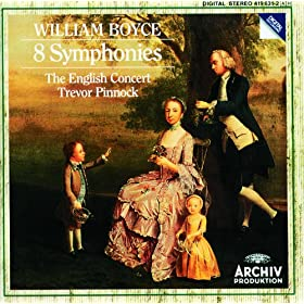 Boyce: Symphony No.1 in B flat Major - Allegro