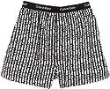 Calvin Klein Underwear U1500A / BXR Matrix - Woven Traditional Fit Boxer Herren Short, Mit Eingriff
