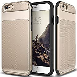 iPhone 6S Case, Caseology [Vault Series] [Gold] Slim Design Rugged Protective Armor Cover [Active Armor] for Apple iPhone 6S (2015) & iPhone 6 (2014)
