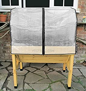 Compact VegTrug™Greenhouse Cover With Support Frame