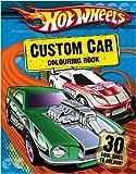 Hot Wheels - Custom Car Colouring Book