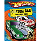 Hot Wheels - Custom Car Colouring Book