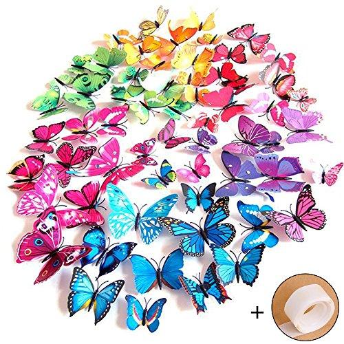goodlucky365-72-piezas-3d-pegatinas-de-mariposa-pegatinas-de-pared-etiquetas-engomadas-multicolores-