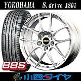 【18インチ】【ミニ用】 ヨコハマ S.drive エスドライブ AS01 225/45R18 BBS RF DSK サマータイヤホイール 4本セット 【輸入車】