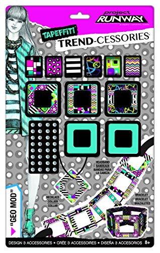 Fashion Angels Project Runway Tapeffiti Trend-cessories Geo Mod Jewelry Kit - 1
