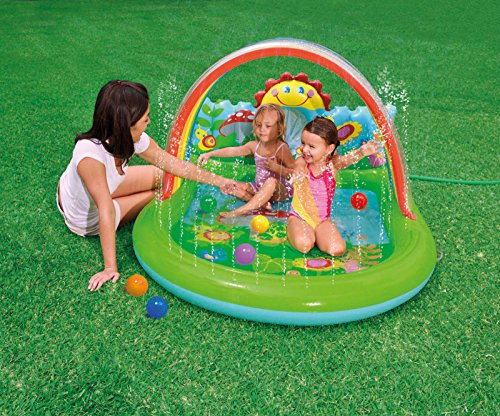 New Shop Intex Inflatable Country Side Pool Toddler Kiddie Wadding Play Swimming Pool front-93199