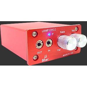 Microshar uAMP109G2 ポータブルヘッドホンアンプ