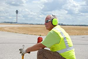 3M PELTOR Optime 105 Earmuffs H10A HV, Over-the-Head (Tamaño: Over the head High Visibility)