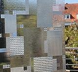 LINEA Fix Dekorfolie statische Fensterfolie GLC 1068 Karo Größenwahl: 0.46m x 10 m