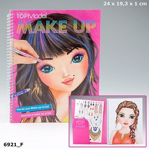 Top Model Make Up Colouring Book by Top Model (Top Model Design Book compare prices)