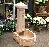 Brunnen aus Terracotta, Wasserlauf Wasserzapfstelle Springbrunnen Deko Garten Wasser Teich