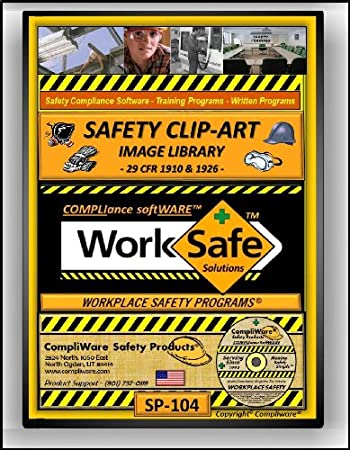 SP-104 - SAFETY CLIP-ART LIBRARY - OSHA - 29 CFR 1910 1926 - UPC - 639737374919