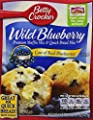 Betty Crocker Wild Blueberry Muffin & Quick Bread Mix, 16.9 oz Box from General Mills