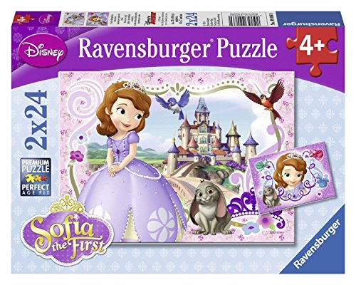 Ravensburger Sophia the First: Sofia's Royal Adventures Puzzles in a Box (2 x 24 Piece)