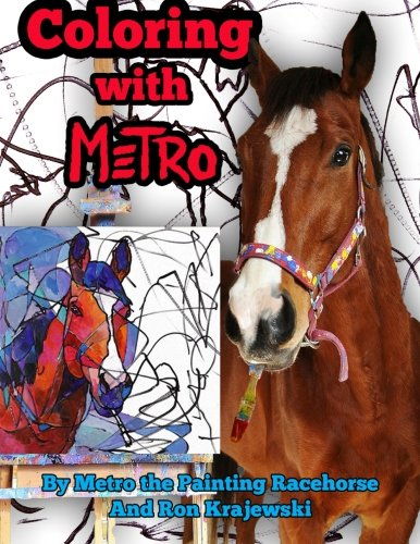 Download Coloring with Metro: 30 Adult Coloring Pages Designed by a Painting Horse