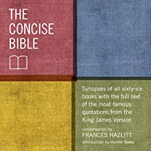 The Concise Bible Audiobook by Frances Hazlitt Narrated by Carrie Goodwiler
