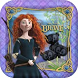 Disney Brave Square Dinner Plates (8) Party Accessory