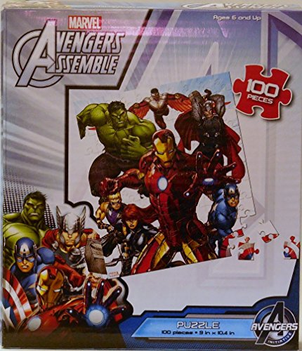 Marvel Avengers Assemble Jigsaw Puzzle of 100 Pieces Ages 6 and above - 1