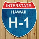 ハワイの州間フリーウェイの道路標識が、フロアーマットに!INTERSTATE HAWAII H-1