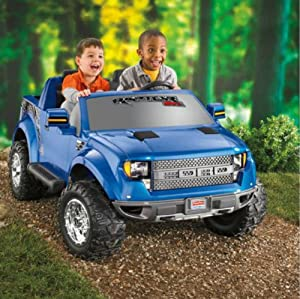 Power Wheels Ford F-150 Raptor 12-Volt Battery-Powered Ride-On
