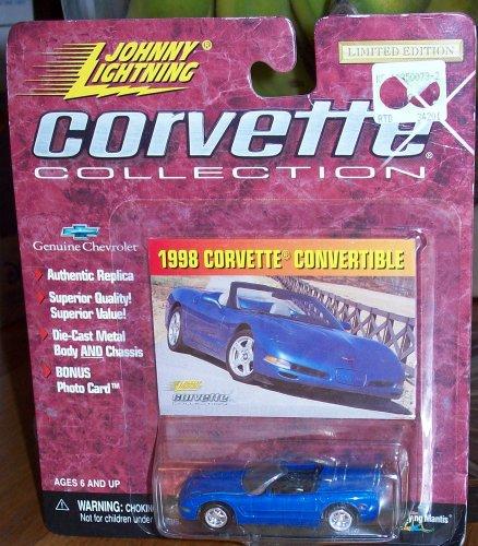 Johnny Lightning Corvette Collection - 1998 Corvette Convertible