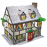 Caspari Entertaining with Caspari 3D Pop-Up Christmas Cottage Advent Calendarby Caspari Inc.