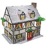 Caspari Entertaining with Caspari 3D Pop-Up Christmas Cottage Advent Calendarby Caspari