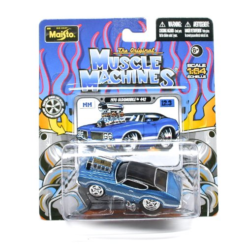 The Original Muscle Machines * Maisto 1:64 Scale Die-Cast Vehicle Die-Cast Assortment (One Vehicle Randomly Selected)