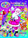 img - for Lisa Frank Peace, Love, and Joy Holiday Giant Coloring and Activity Book book / textbook / text book