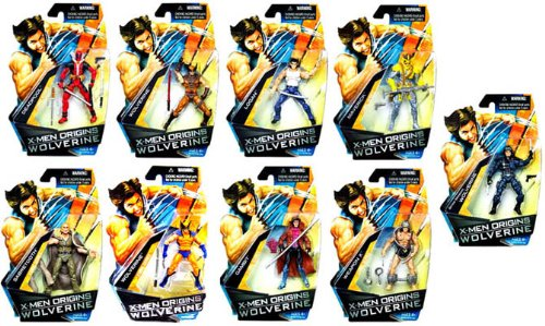Picture of Hasbro X Men Origins Wolverine Comic Series Wave 1 Figure Case Of 12 (B0021YS0R8) (Hasbro Action Figures)