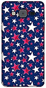 The Racoon Lean twinkle hard plastic printed back case / cover for Samsung Galaxy On7
