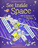 See Inside: Space: With over 50 flaps to lift & a little book of Star Maps (Usborne See Inside)