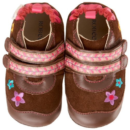 Robeez Mini Shoez Infant Toddler Flower Boot - baby shoes :  infant shoes baby shoes