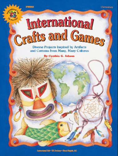 FRANK SCHAFFER PUBLICATIONS INTERNATIONAL CRAFTS AND GAMESGR. 1-6 - 1