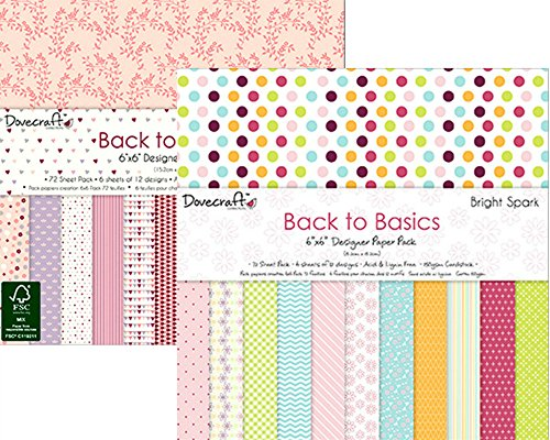dovecraft-back-to-basics-carta-fsc-pads-144-fogli-152-x-152-cm-bright-spark-152-x-152-cm-pretty-in-p