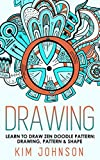 Drawing: Learn to Draw Zen Doodle Pattern - Drawing, Pattern & Shape (Sketching,Doodling,Pictures,Zen Doodle,masterpiece,painting,acrylic painting,oil painting,pencil drawing,creative)