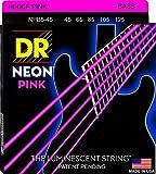 DR Neon Pink Medium 5 · Saiten E-Bass