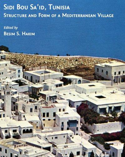 Sidi Bou Sa id Tunisia Structure and Form of a Mediterranean Village096851992X