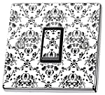 Vintage Black & White Pattern Light S...