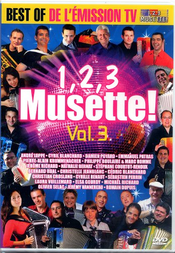 DVD Accordéon Vol.03 1, 2, 3 Musette