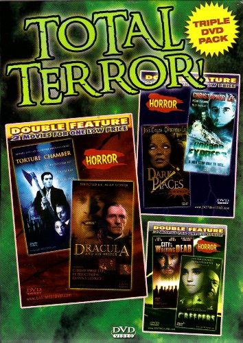 Creepers+City of the Walking Dead+Torture Chamber+Dracula and His Brides+Dark Places+Horror Express[Triple DVD Pack & Double Feature]