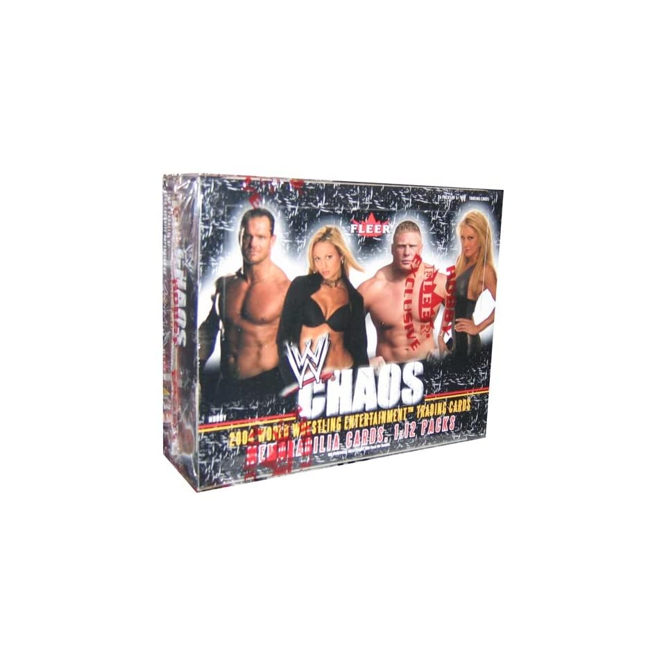 WWE Chaos Wrestling Trading Cards HOBBY Box   24P5C