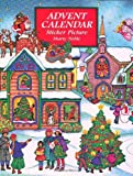 Advent Calendar Sticker Picture (Dover Sticker Books) (0486402452) by Noble, Marty