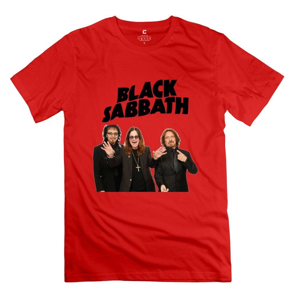 Black Sabbath Shirt Amazon Yisw Men Black Sabbath T-shirt