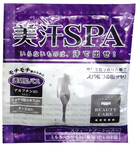ノルコーポレーション 入浴剤 美汗SPA 透明肌バス 12包セット スウィートブーケの香り OBーTBIー1ー6