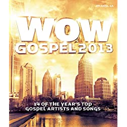 Wow Gospel 2013 (DVD)